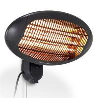 Инфрачервен лъчист отоплител TROTEC IR 2000 S, 2000 W, с 3 степени на отопление
