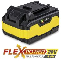 Акумулаторна батерия TROTEC Flexpower, 20 V, 4.0 Ah