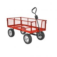 Градинска количка - ремарке HECHT 53350, 350 кг, 127 х 62 х 65 см