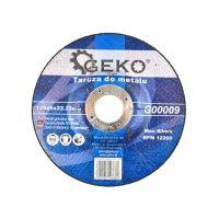 Диск за рязане на метал GEKO G00009, 125x6x22.2 мм