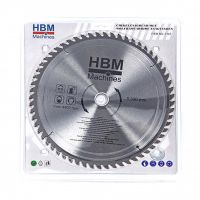 Циркулярен диск за дърво HBM 7145, 300 мм, 24 зъба