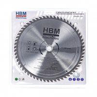 Циркулярен диск за дърво HBM 7148, 300 мм, 80 зъба