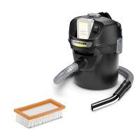 Прахосмукачка за пепел и прах Karcher AD 2 Battery, 230W, 18 V, без батерия и зарядно