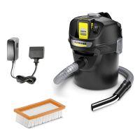 Прахосмукачка за пепел и прах Karcher AD 2 Battery Set, 230W, 18V, с батерия и зарядно