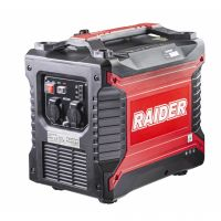 Бензинов монофазен инверторен генератор Raider RD-GG10, 2.5 kW, 4 л