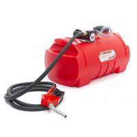 Електрическа помпа за дизелово гориво и масла HBM 10034, 12 V, 100 л, 40 л. / мин., с резервоар