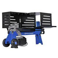 Хоризонтална машина за цепене на дърва REM Power LSEm 7010, 2300 W, 7 т, ф 250х520 мм