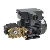 Трифазна индустриална помпа за водоструйки и пароструйки COMET MTP FW2 15/200, 400 V, 6.9 kW, 200 бара, 900 л./ч.