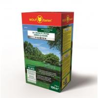 Универсална тревна смеска Wolf Garten SР 100 Premium, слънце/сянка, 100 м², 2 кг