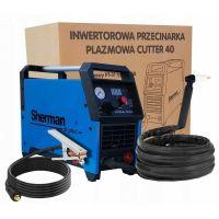 Инверторна плазма SHERMAN CUTTER 40, 4.8 kVA, 34 A, с плазма бренер PT31