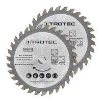 Комплект дискове за циркуляр TROTEC 3 TCT, Ø 89 мм, 2 броя