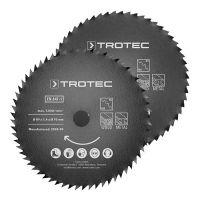 Комплект дискове за циркуляр TROTEC 1 HSS, Ø 89 мм, 2 броя