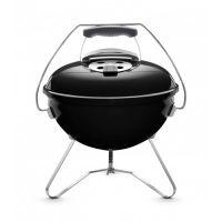 Преносимо барбекю на въглища Weber Smokey Joe, 37 см, черно