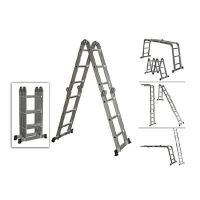 Мултифункционална алуминиева стълба S and K, 4х5, 570 см, 150 кг