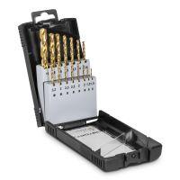 Комплект свредла за метал TROTEC, HSS,  от 1.5 до 10 мм, 15 части