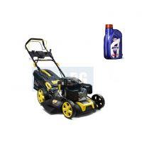 Самоходна бензинова косачка за трева John Gardener G83054, 5 в 1, 6.75 к.с, 51 см, ел.старт, с двигател Loncin, с мулчиране