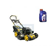 Самоходна бензинова косачка за трева John Gardener G83052, 6.75 к.с, 51 см, ел. старт, с мулчиране