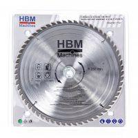Циркулярен диск за дърво HBM 7141, HM, 250 мм, 60 зъба