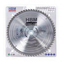 Циркулярен диск за дърво HBM 7143, HM, 250 мм, 100 зъба