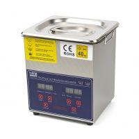 Дигитална ултразвукова вана за почистване и обезмасляване HBM 10211, 230 V, 60 W, 40 Khz, 2 л