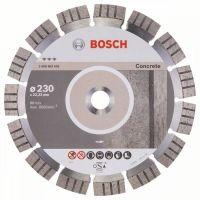 Диамантен диск за рязане Bosch Best for Concrete, 230х22.23х15 мм
