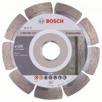 Диамантен диск за рязане Bosch, Standard for Concrete, 125x22.23x10 мм