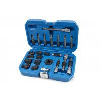 Комплект ключове за монтаж и демонтаж на алтернатори HBM 10064, 23 части