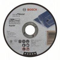 Диск за рязане Bosch Best for Metal-Rapido A 60 W BF, 125х1 мм, комплект 25 бр.
