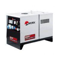 Газов трифазен генератор GENMAC GAS G5900RS, 6 kVA, ел.старт, AVR