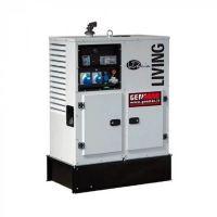 Дизелов монофазен генератор GENMAC Living RG12000KS, 12.1 kW, 76 л, ел.старт, AVR