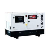 Дизелов трифазен генератор GENMAC Strong G40KS, 44 kVA, 100 л, ел. старт, AVR