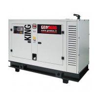Дизелов трифазен генератор GENMAC King G60KS, 66 kVA, 150 л, ел.старт, AVR
