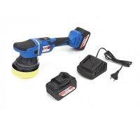 Акумулаторна полирмашина HBM PROFI 9841, 18 V, 4 Ah, 125 мм, с 2 батерии и зарядно