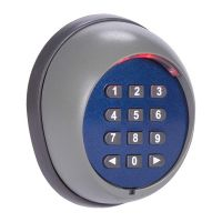 Безжична клавиатура за управление на портални врати GAMA 80861