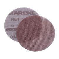 Абразивен велкро диск - мрежа Starcke NET500®, 225 мм, P80, за стени, тавани, камък, дърво