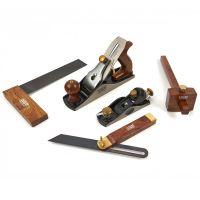 Професионален дърводелски комплект HBM 10428, 5 части