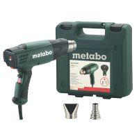 Пистолет за горещ въздух Metabo HE 20-600 /в куфар, с дюзи, 2000W/