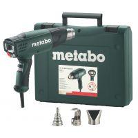 Пистолет за горещ въздух METABO HE 23-650 Control /в куфар, с дюзи, 2300W/