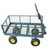 Градинска количка PSDS, 300 кг, с мрежа