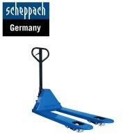 Транспалетна количка Scheppach HW2500, 2500 кг