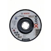 Диск за шлайфане на метал Bosch X-LOCK Expert for Metal, 125x6x22.23 мм, 10 броя