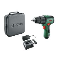 Акумулаторен ударен винтоверт Bosch EasyImpact12, 12.0 V, 30.0 Nm, с батерия, зарядно и куфар
