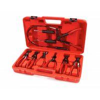 Комплект клещи за монтаж и демонтаж на скоби за водни съединения HBM 1840, 9 части