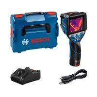 Термокамера Bosch GTC600C Professional, 12 V, -20 °C до +600 °C, с батерия, зарядно и L-BOXX