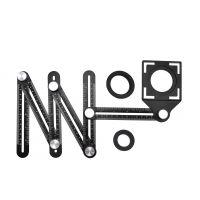 Пантограф за пренасяне на ъгли и отвори GEKO G64990, 6 рамена