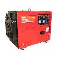Дизелов трифазен генератор SENCI SC-7500Q-3, 4.8 kW, 18 л, ел. стартер, AVR и ATS