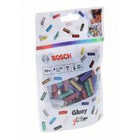 Блестящи лепилни пръчки Bosch Gluey, 70 бр.
