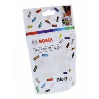 Прозрачни лепилни пръчки Bosch Gluey, 70 бр.