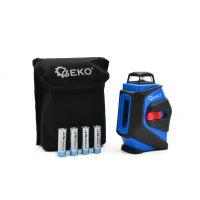 Лазерен нивелир GEKO G03304, 25 м, 360°, с 4 батерии x 1.5 V LR6 (AA)