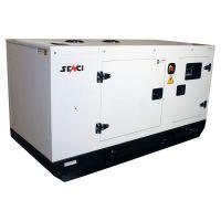 Обезшумен дизелов монофазен генератор за ток SENCI SCDE 19YSM, 19 kVA, 80 л, с ел. старт, ATS и AVR